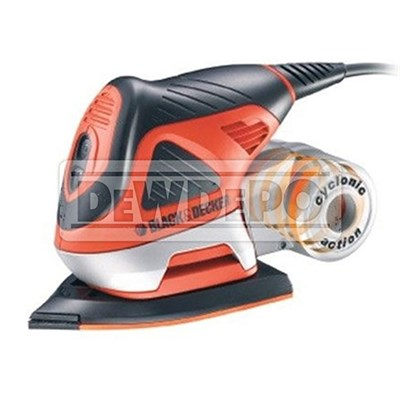 BLACK&DECKER KA270K EKSANTRİK ZIMPARA