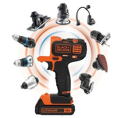 Black+Decker MT218KB Şarjlı Matkap Multievo 18V
