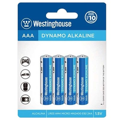 Westinghouse AAA Alkaline İnce Pil