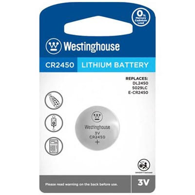 Westinghouse CR2450 Pil Lithuim