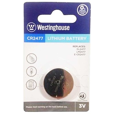 Westinghouse CR2477 Pil Lithuim