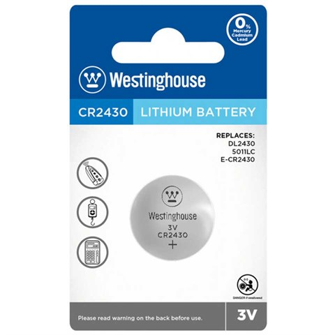 Westinghouse CR2430 Pil Lithuim